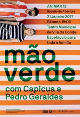 Concerto Mão Verde Capicua Pedro Geraldes