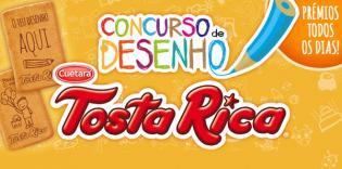Concurso Desenho mini artistas: imagine bolachas Tosta Rica desenhadas pelos seus filhos