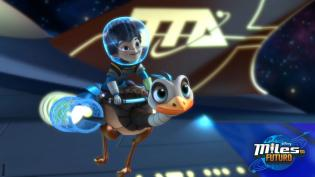 Conheca as personagens Miles Futuro Disney Junior