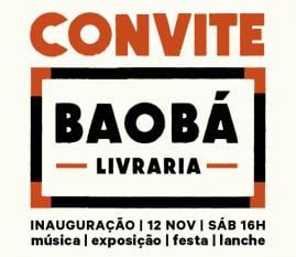 CONVITE Inauguração BAOBí livraria