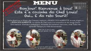 Cozinha Chef Louis seu amigo Sourit