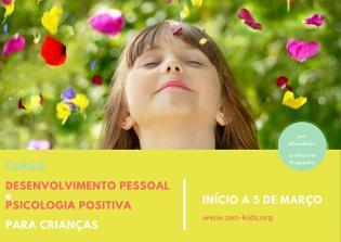 Curso Desenvolvimento Pessoal Psicologia Positiva Crianças