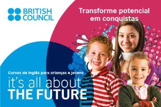Cursos inglês British Council crianças jovens