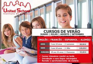 Cursos Verão United School