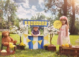Deliciosas sessões fotográficas muita limonada