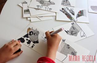 Desenho partir jornal