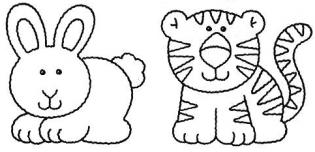 Desenho pintar - animais