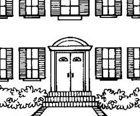 Desenho pintar - casa