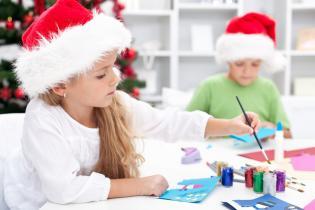 Desenhos pintar passatempos Natal