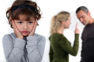 Discutir frente filhos: sim não?