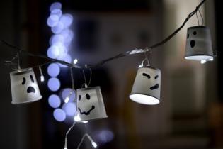 DIY: Luzinhas Halloween