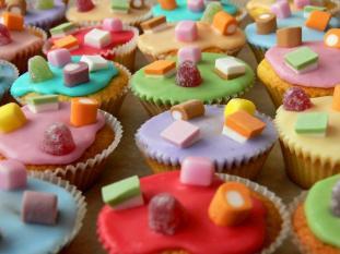 doces como recompensa
