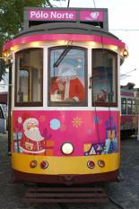 elétrico natal Lisboa