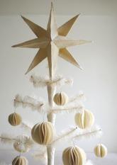 Enfeites árvore Natal - instrucões passo passo