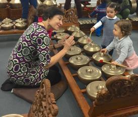 Escola Gamelão Ilha Java regressa Museu Oriente