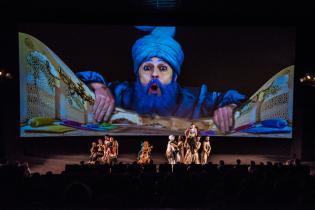 Espetáculo Aladino Lâmpada Mágica