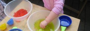 Exploração Sensorial Pais Bebés