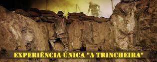 Exposição vida soldados portugueses numa trincheira