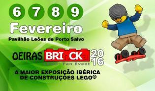 Famílias, Oeiras BRInCKa, LEGO Fan Event está volta
