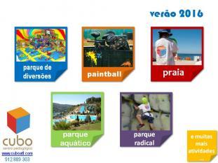 Férias Ativas Divertidas Verão 2016 CUBO