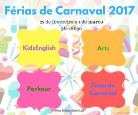 Férias Carnaval 2017