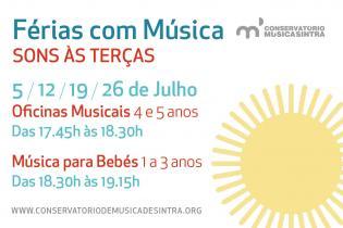 Férias Música Verão Sons às terças