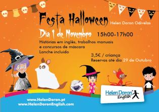 Festa Halloween Centro Helen Doron Odivelas