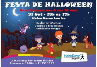 Festa Halloween Helen Doron Lumiar