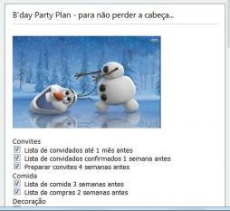 Festas originais - tema Frozen - reino Gelo: Planear