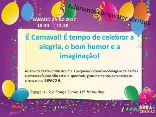 Festejar Carnaval Espaço H