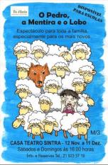 Fio d´Azeite estreia  O Pedro Mentira Loboem Sintra