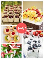 Fruity Fresh - Ideias festas
