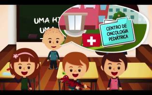 Fundacão Rui Osório Castro lanca vídeo animado sobre leucemia