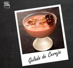Gelado Cereja Iogurte Grego