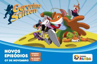 Geronimo Stilton - Novos episódios partir 7 novembro Canal Panda