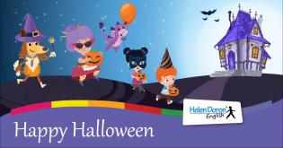 Halloween chega aos centros Helen Doron país.