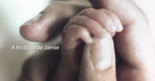 história Jamie - conhecam milagre vida deste pequeno bebé prematuro
