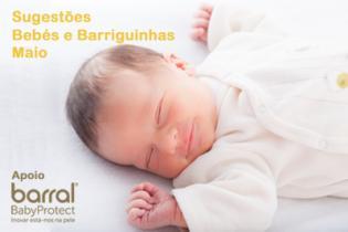 Ideias barriguinhas bebés mês Maio
