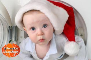 Ideias giras Mamãs Bebés depois Natal