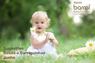 Ideias quentinhas bebés mamãs durante mês Junho