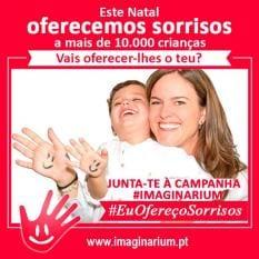 Imaginarium apresenta sua campanha solidária #EuOferecoSorrisos