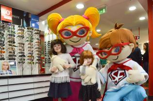 Já abriu primeira Óptica dedicada às criancas - família Pumpkin foi investigar