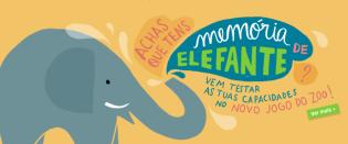 Jogo Memória Elefante