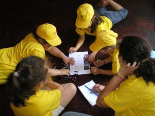 Jogos pedagógicos Museu Caça Tesouro, PeddyPaper, Jogo Glória
