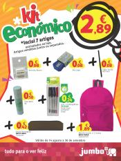 Jumbo lanca Kit Económico Regresso às Aulas