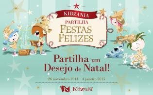 KidZania festeja os mais pequenos magia Natal