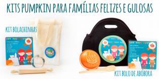 Kits Pumpkin famílias felizes adoram cozinhar.
