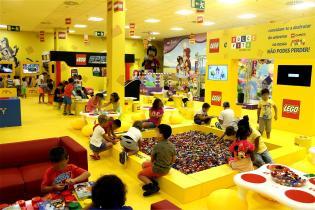 LEGO inaugura primeira LEGO Fun Factory Dolce Vita Tejo