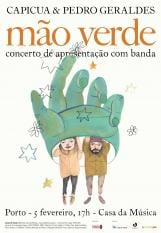 Mão Verde Capicua & Pedro Geraldes concerto Casa Música