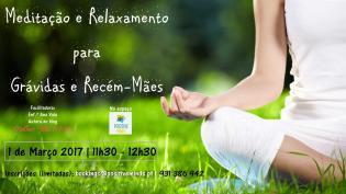 Meditação Relaxamento Grávidas Recémmães